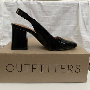 Urban outfitters square toe heel